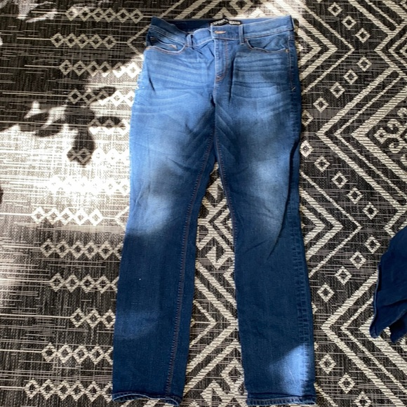 Express jeans skinny mid rise 10R